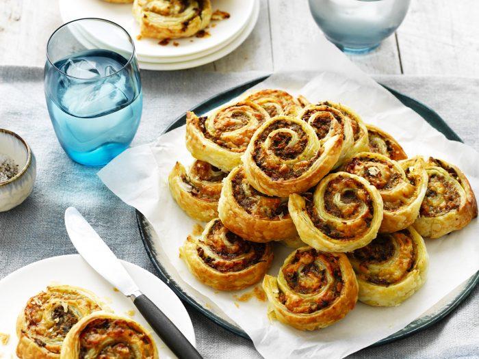 Mushroom & Pork Pinwheels