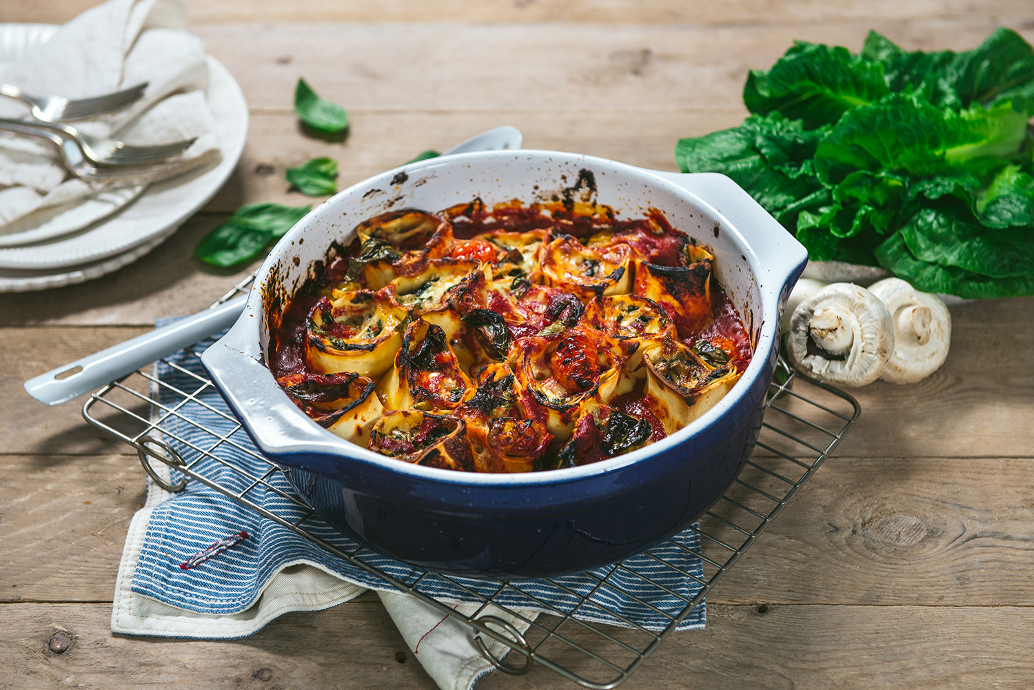 Miguel's Mushroom Cannelloni